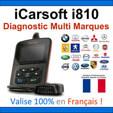 iCarsoft i810 - Valise Diagnostique MULTIMARQUES en Français - VAG COM - OBD