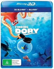 Finding Dory 3D + 2D Blu-ray BRAND NEW SEALED Region B