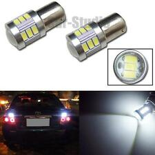 2pcs 1156 P21W Xenon White 18-5230-SMD LED Projector Bulbs For Car Backup Lights