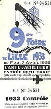 FOIRE DE LILLE FABRIQUE DE SIEGES LE CONFORTABLE WATTRELOS 1933
