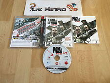 PLAY STATION 3 PS3 KANE & LYNCH DEAD MEN COMPLETO PAL ESPAÑA