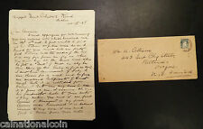 Handwritten Letter and Cover Sent from Dublin, Ireland to Portland,OR 1924