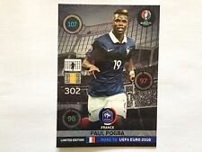 CARTE PANINI ADRENALYN EDITION LIMITED XXL ROAD TO EURO 2016 PAUL POGBA FRANCE