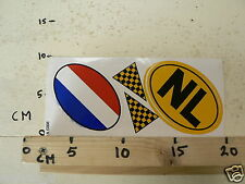 STICKER,DECAL NL COUNTRY  NETHERLANDS LAND DUO LARGE