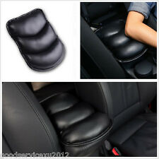 Black PU & Hollow Cotton Vehicle Interior Armrest Box Center Console Seat Cover