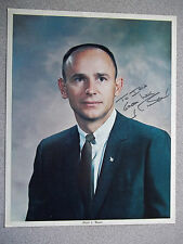 Alan Bean Vintage NASA Autographed 8X10 Photo