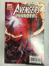 Avengers Invaders #9 Comic Book Marvel Dynamite 2009