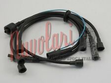 SERIE CAVI CANDELE NERI PER FIAT 127 900 BERLINA IGNITION CABLES NUOVI