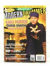 MODERN DRUMMER MAGAZINE CHAD SMITH RED HOT CHILI PEPPER DONALD FAGEN VERY R