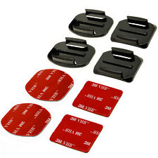 8 in 1 Supporto Accessori Casco per GoPro Hero5 Black & Session 4 3+ 3 2 1