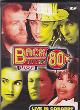 Back To The 80 s-Live In Concert music DVD