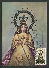 SPAIN MK 1965 PHILIPPINEN MADONNA MAXIMUMKARTE CARTE MAXIMUM CARD MC CM d4106