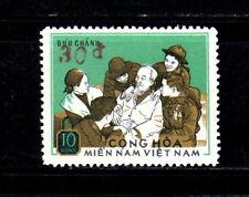 S. Vietnam (NLF-Viet Cong) Pres. Ho Chi Minh Overprint (10d=>30d)1974 Rare
