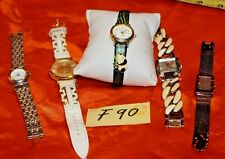 Women's Watch Lot Jennie B, G Vanderbilt, A.Klein ,DKNY and NYC F90