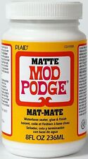 Genuine Mod Modge Podge  - Original Matte - 8oz - Decoupage