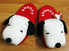 Snoopy Slippers US 4-8, UK 2-6, EU 35-39 NWT Peanuts Gang #Red