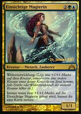 Einsichtige Magierin FOIL / Fathom Mage | NM | Prerelease Promos | GER | Magic