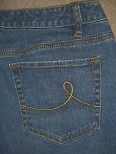 ANN TAYLOR LOFT Curvy Boot Stretch Denim Jeans Womens Size 6 x 32