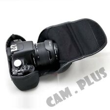 Camera Pouch For Canon EOS 750D 760D REBEL T6i T6s KISS X8i 8000D 18-55mm Lens