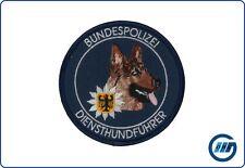 Abzeichen Bundespolizei Diensthundführer blau Schäferhund