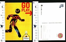 CARTOLINA PUBBLICITARIA - BALLANTINES SCOTCH WHISKY - GO PLLAY- CLUB BAR - 56563