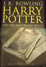 1st EDITION BOOK 6 HARRY POTTER AND THE HALF BLOOD PRINCE J.K ROWLING ADULT