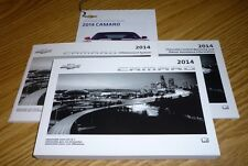 2014 CHEVROLET CAMARO OWNERS MANUAL SET 14 infotainment GUIDE BRAND NEW