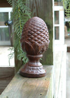 Large PINEAPPLE FINIAL Solid Cast Iron Garden Decor