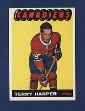1965-66 Topps TERRY HARPER #68 Exmt/Nrmt MONTREAL CANADIENS !!