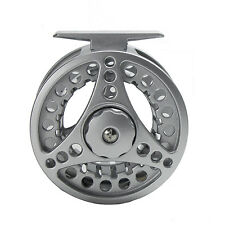 Fly Fishing Reel with CNC-machined Aluminum Alloy Body TROUT 2+1BB  3/4 Silver