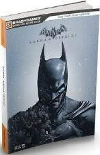 Batman: Arkham Origins Signature Series Strategy Guide Bradygames Signature Gui