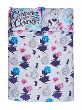 Disney Alice in Wonderland Cheshire Cat Full/Double Bed Sheets & Pillowcase Set