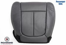 2010 Ford F150 Lariat FX2 FX4 XLT-Passenger Side Bottom Leather Seat Cover Black