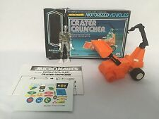 MICRONAUTS Crater Cruncher Mego w/ Figure, Box, Instructions, Stickers 1976