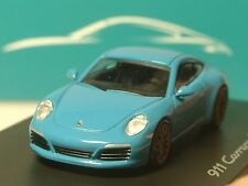 Spark Porsche 911 Carrera S miami blue, dealer model - 1/87