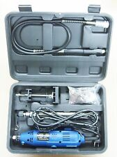 60PC Rotary Tool Kit Die Grinder Polisher Flexible Shaft Stand