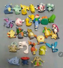 24 peices Pokemon Go random Pokemon Figures 2-3cm Toy Cake Topper Ash Ketchum