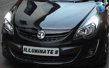 Corsa D LED Daytime Running Lights DRL Sidelights Canbus Error Free SRI VXR LE