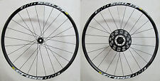 "Mavic Crossone Disc set ruote MTB 29"" nero 6 fori 15mm 2150gramm"
