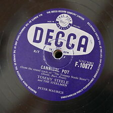 78 rpm TOMMY STEELE cannibal pot / butterfingers F.10877