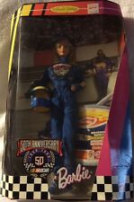Vintage Barbie NASCAR 50th Anniversary Collector Edition 1998