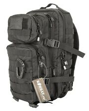 Black 28L Military Assault Pack Rucksack Small Tactical