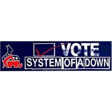 SYSTEM OF A DOWN Vote For Logo Sticker NEW OFFICIAL MERCHANDISE Heavy Metal
