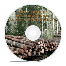 LOGGING, REDWOOD, OLD TIME LUMBER MILLS FILMS, WOOD FOR WAR DVD J34