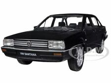 VOLKSWAGEN SANTANA BLACK 1/24 DIECAST CAR MODEL BY WELLY 24036