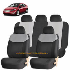 GRAY ELEGANT AIRBAG COMPATIBLE SEAT COVER for CHEVROLET CRUZE CAMARO