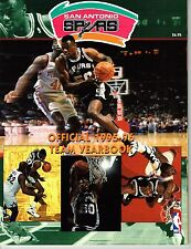 1995/96 San Antonio Spurs NBA Basketball Yearbook