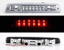 Dodge Ram 1500 2500 3500 94-01 Rear 3rd LED Brake Light Chrome Clear