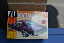 AMT 928/12 '70 Monte Carlo SS454 Model Kit 1:25 - NEW