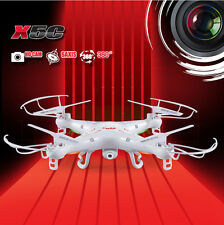 SYMA X5C 2MP HD FPV Camera 2.4GHz 4CH 6Axis RC Helicopter Quadcopter Gyro I1Z8